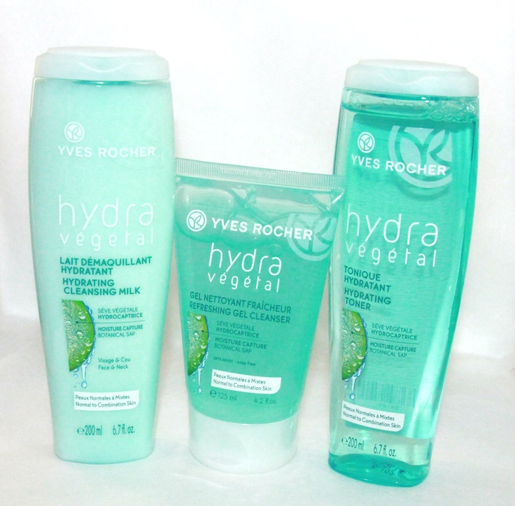 Beauty Reflections: Get 24 Hour Moisture With Yves Rocher HYDRA VÉGÉTAL