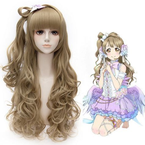 Kawaii wig cosplay wigs