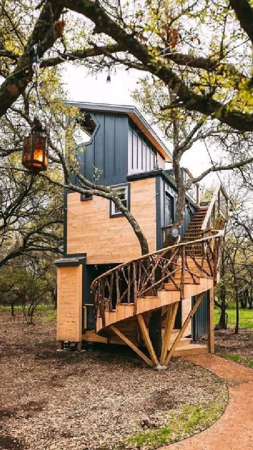 Tree House Designs, Tiny House Design, Tiny House Living, My House, Tiny House Nation, Little Houses, Play Houses, My Dream Home, Home Decor Inspiration