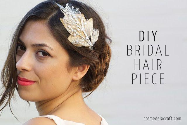 DIY: Beaded Bridal Headband