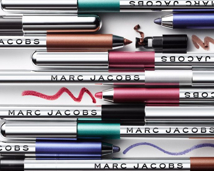 #Sephora Hot Now Volume 9: Marc Jacobs Highliner Gel Crayon not only combines the intensity of a gel liner with the ease of a pencil, it reflects Marc's inspiration for Blacquer, which he went no further than his living room to find. Read more on the Sephora Glossy! #SephoraHotNow