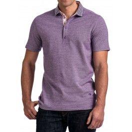 HNL 4132 Purple Polo
