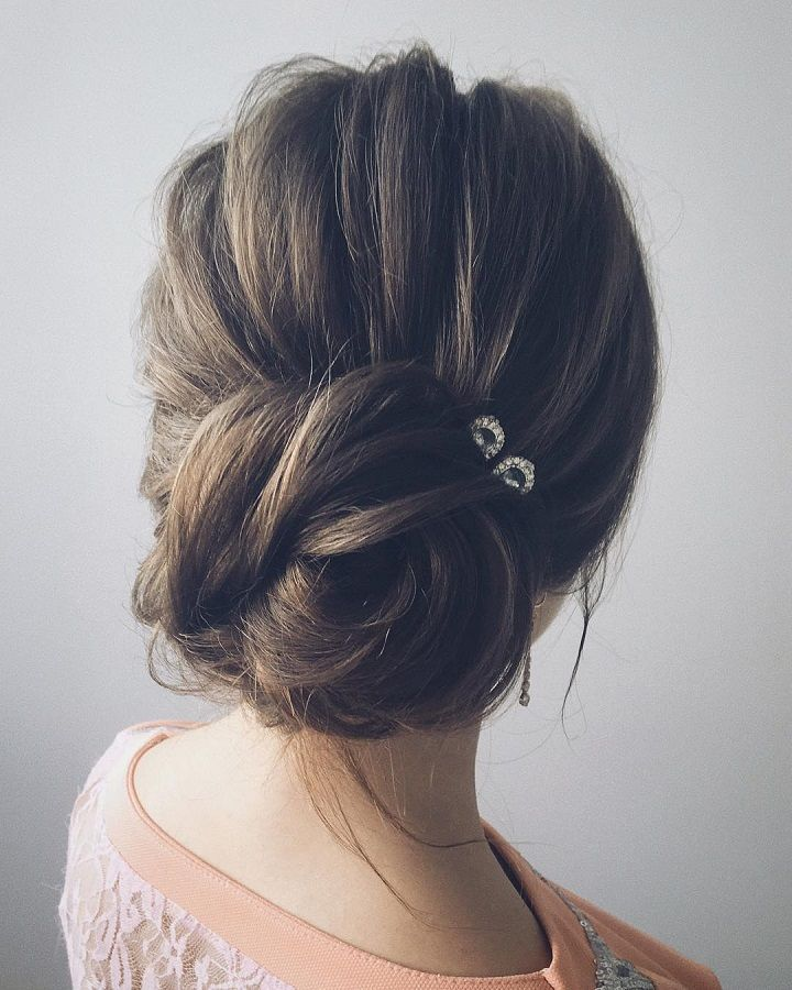 Beautiful Unique Updo Wedding Hairstyle Ideas In 2020 Simple Wedding Hairstyles Messy Hairstyles Hair Styles