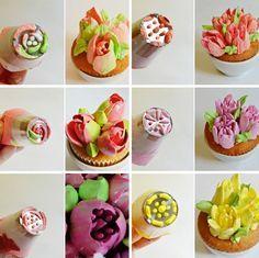 Set 6 boquillas rusas para flores - Tienda online de repostería y ...