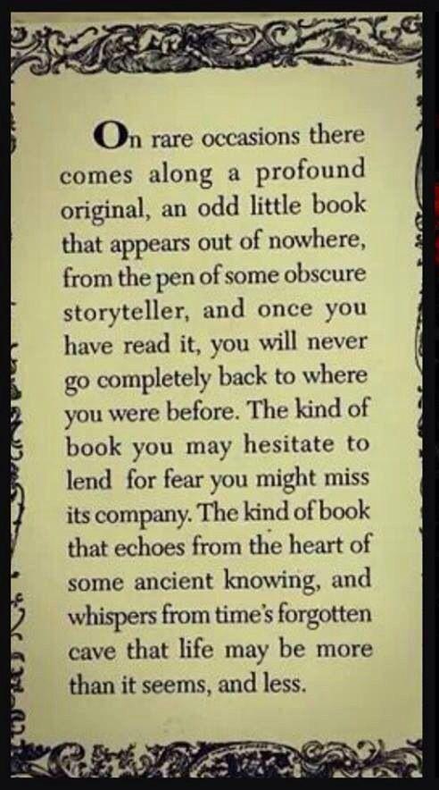 That rare book...