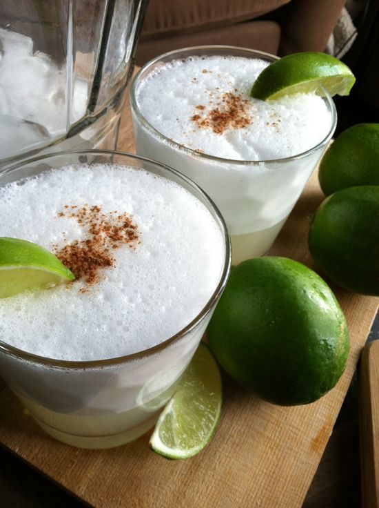 Summertime Drink: Pisco Sour... maybe I'd like them better now than I did in Peru 4 years ago!