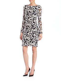 Alice + Olivia - Katy Diamond-Back Dress