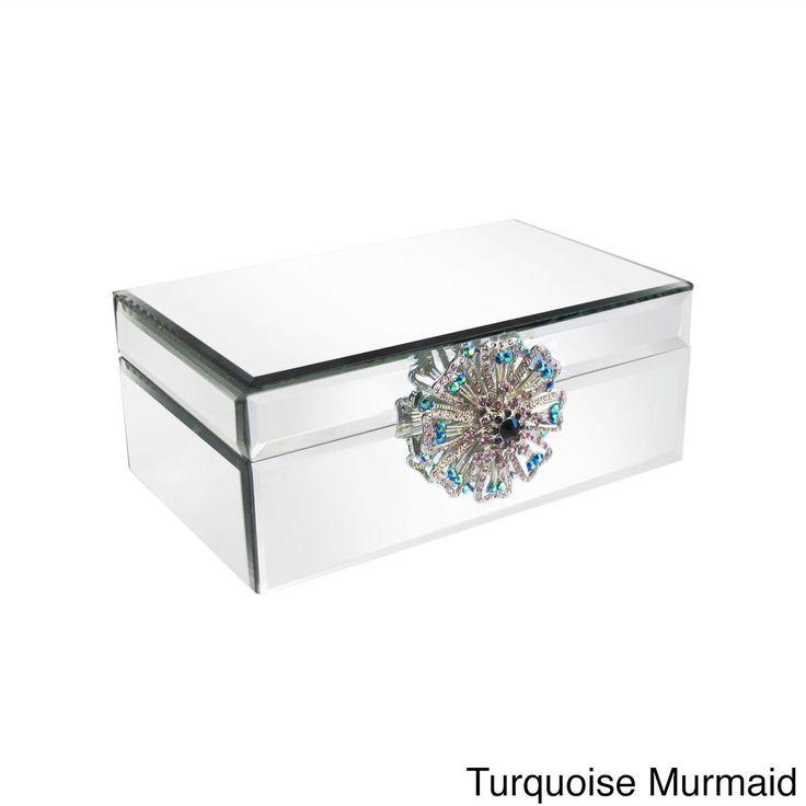 25 bsta iderna om Mirrored jewelry box p Pinterest