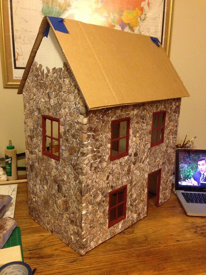 videos on how to make urnitur for your doll house