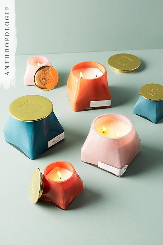 Create a soothing autumn ambience in your home with our Trouvaille Mini Jar candles.