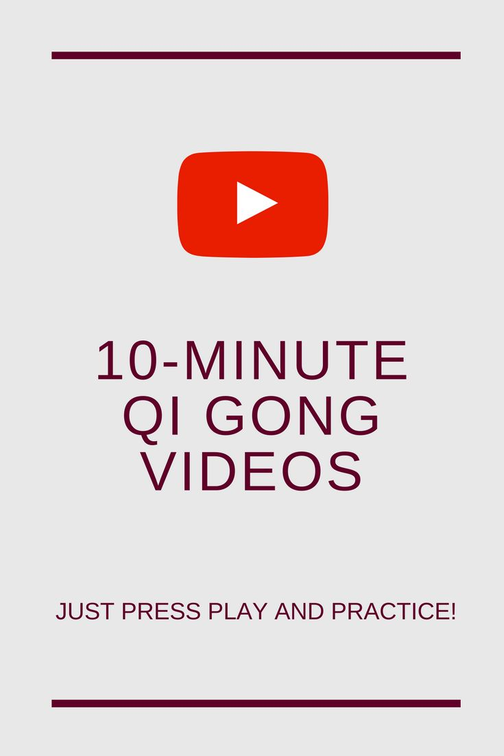 online Qi Gong exercises (10-minute videos)  #qigong #qigongforbeginners #qigongexercises