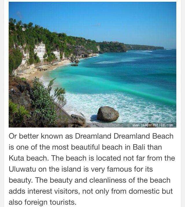 Dreamland Beach-Bali Indonesia.