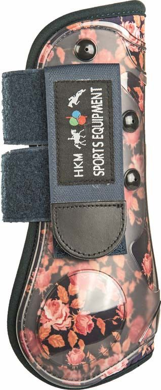 HKM Tendon Boots Roses