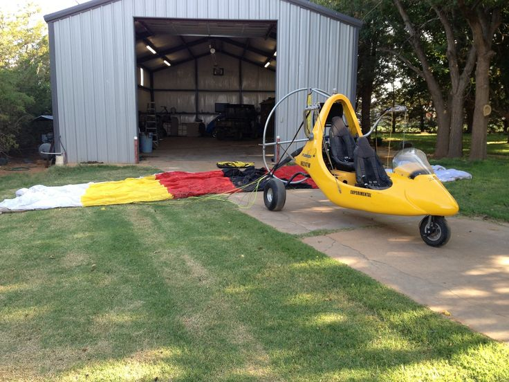 2003 Destiny Fusion for sale in (KLLN) Levelland, TX USA => www.AirplaneMart.com/aircraft-for-sale/Parachute-Powered-Parachute/2003-Destiny-Fusion/14240/