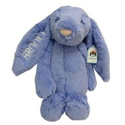 17 best personalized easter gifts for baby images on pinterest if you are looking for a shower or birth gift that will be loved by baby buy a personalized bashful bluebell bunny by jelly cat negle Images