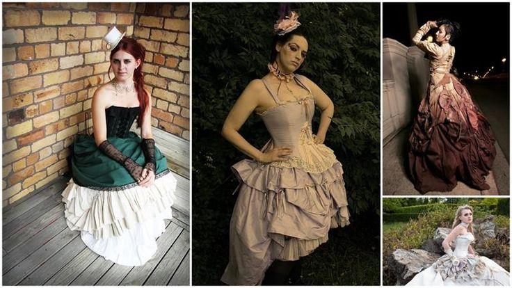 Платье в стиле steampunk