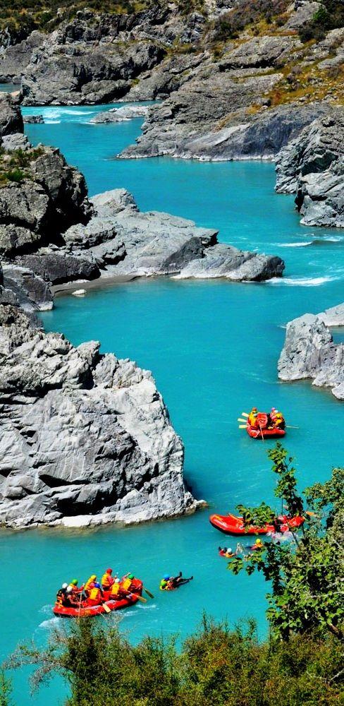 White Water Rafting - Rangitata River, New Zealand