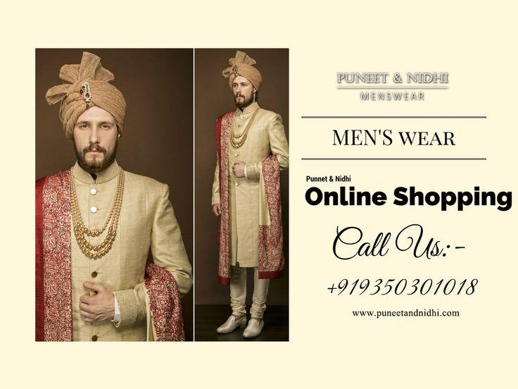 Check out Designer Wedding Groomswear In Noida, Delhi NCR & California http://puneetandnidhi.com