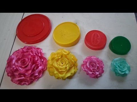 04 Flores de tecidos Voçê vai Aprender de Forma Simpres e Rápido para Tiara Broche e Cabelo - YouTube