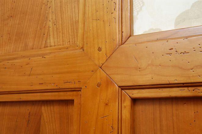 Boiserie in legno ecco un esempio di come sappiamo lavorare il legno