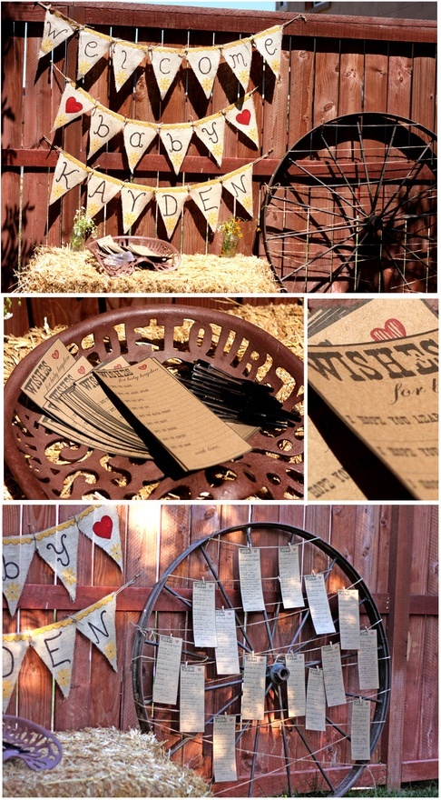 Western Baby Shower- I want a cool shower, NOTHING with blue for boy and pink for girl