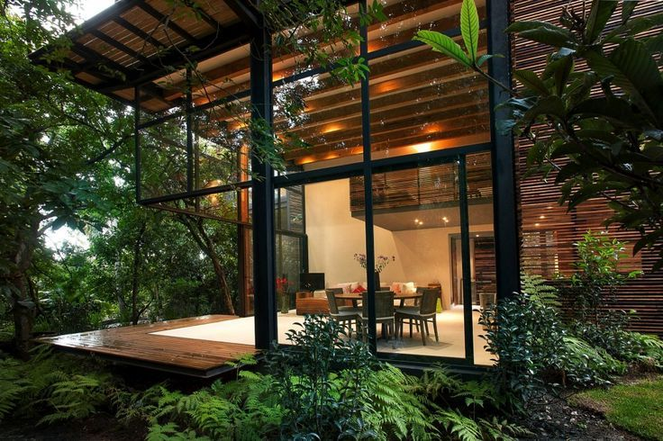 ... Modern jungle house architectural trip pinterest green the o