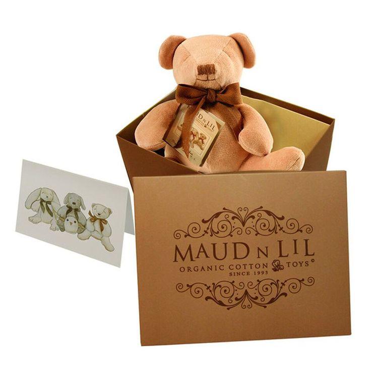 Maud N Lil Cubby the Teddy Bear Soft Toy