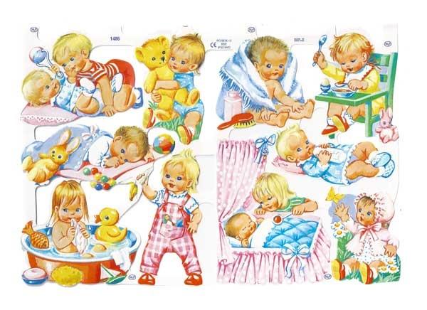 Poezieplaatjes Baby 1486 -De Oude Speelkamer