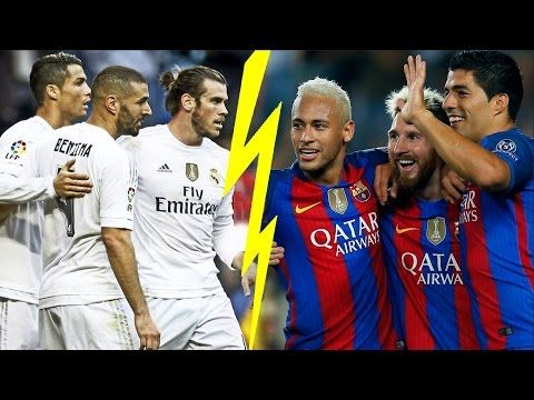 Messi, Suarez, Neymar vs Bale, Benzema, C.Ronaldo ● Top 20 Goals ● HD - YouTube