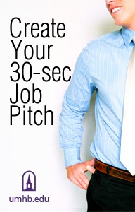 Create Your 30-sec Job Pitch