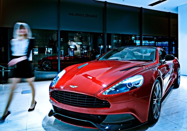 Commercial Photography Melbourne - Aston Martin Vanquish Con Tsioukis of Alex Pavlou Photography