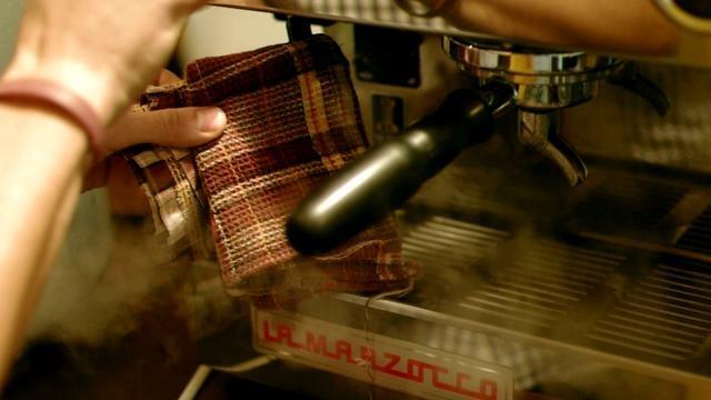 Aero press by Alexey Kurbatov. Best Vologda barista