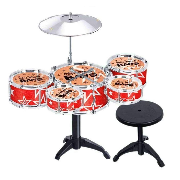 Children Kid's Toy Jazz Drum Set Early Educational Musical Instrument Toy Playset with D #drum #jazz #musical #instrument #music #kids #new https://seethis.co/2VYD2X/
