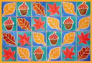 Kids Artists: Fall things