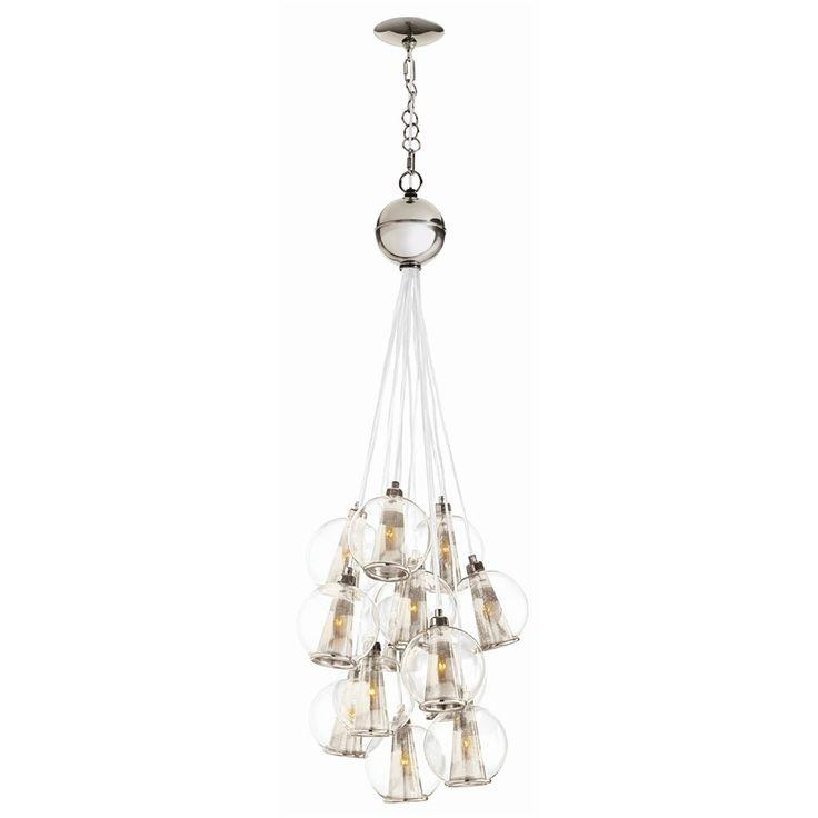 Caviar Adjustable Glass Cluster · Hanging LightsHanging ...  sc 1 st  Pinterest & 74 best Lighting images on Pinterest | Lamp light Modern ceiling ... azcodes.com