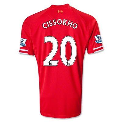 camisetas Cissokho Liverpool 2014 primera equipacion http://www.camisetascopadomundo2014.com/