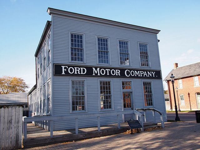 First Ford Motor Company, 1903 Replica Replica of first Ford ...