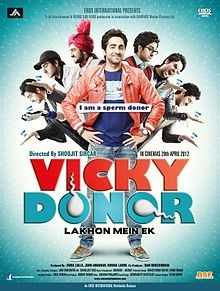Vicky Donor, good film with terrific performances from each of the cast. Ayushmann, Yaami, Annu Kapoor, Dolly Ahluwalia, Kamlesh Gill