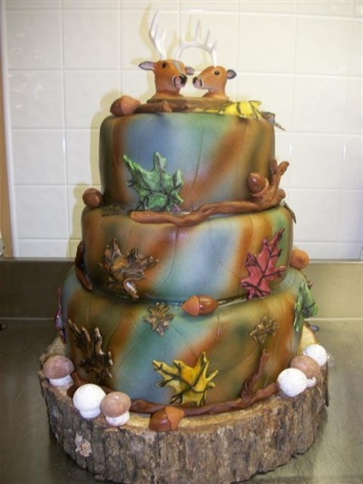Red Neck Wedding Cake By sweetthang1 on CakeCentral.com