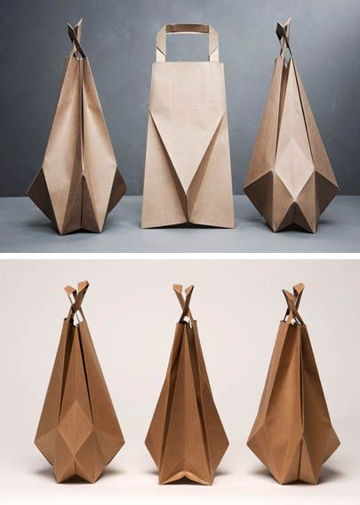 Origami paper bags-IIvy Jacobs