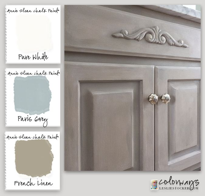 The Awesome Web Master Bath Vanity Upgrade with Chalk Paint decorative paint by Annie Sloan
