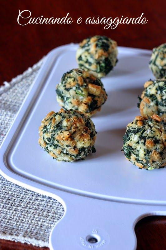 Cucinando e assaggiando...: Canederli al cavolo nero e pecorino con prosciutto croccante