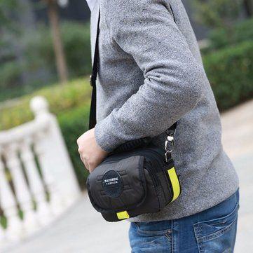 Men Casual Nylon Waterproof Shoulder Bag Outdoor Sport Crossbody Bag - US$15.67