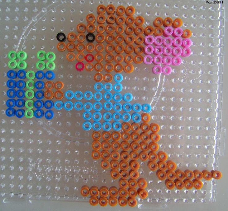 perles a repasser : winnie l'ourson - Les loisirs de Pat