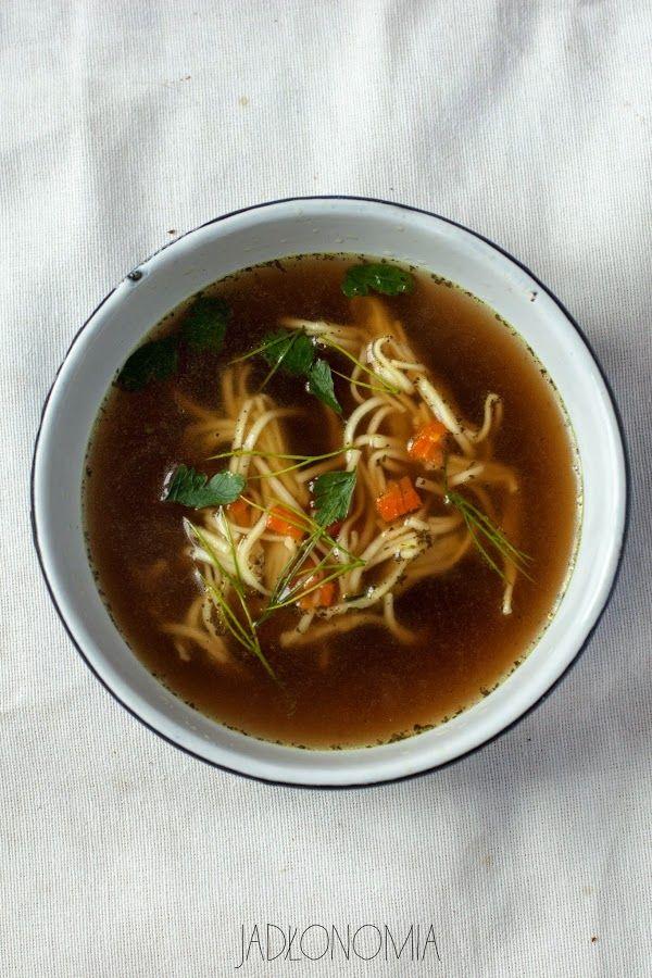 wegański rosół - mocno warzywny