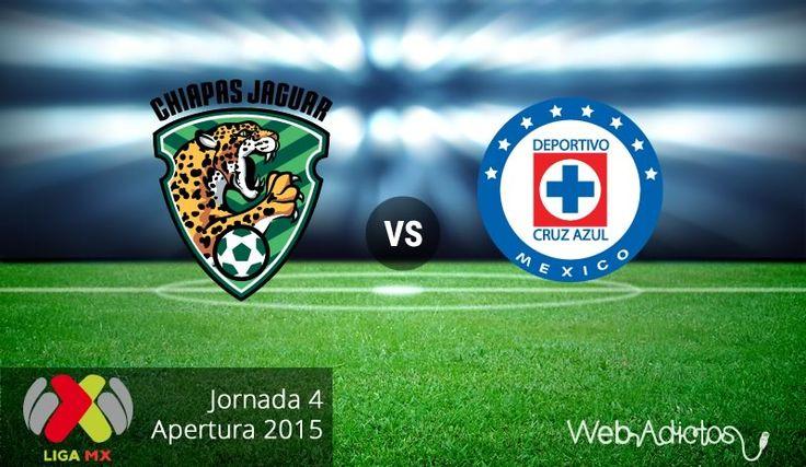 Chiapas vs Cruz Azul, Jornada 4 del Apertura 2015 ¡En vivo por internet! - http://webadictos.com/2015/08/12/chiapas-vs-cruz-azul-apertura-2015/?utm_source=PN&utm_medium=Pinterest&utm_campaign=PN%2Bposts