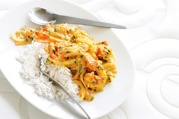 prawn curry, indian style