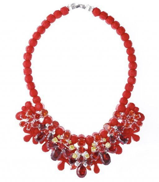 EK 284  F. CORALLE NECKLACE