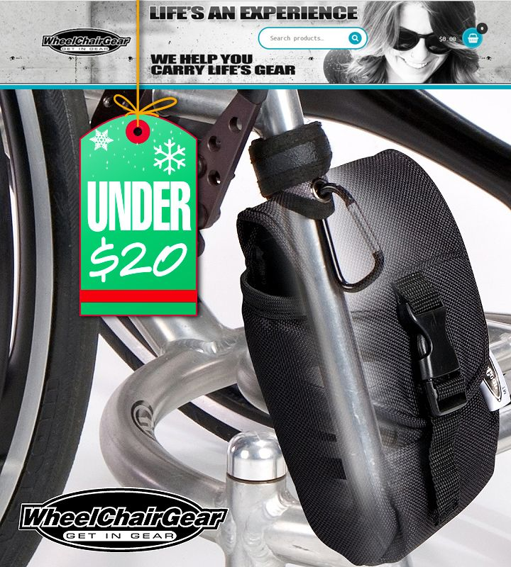 Wheelchair User S Gear Under 20 To Help You Carry Stuff Mini Packs Grip Clips Super Duty Clips Stainless Bottle Holder With Velcro Attaching S With Images Stainless Bottle