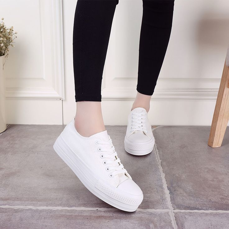 $18.86 (Buy here: https://alitems.com/g/1e8d114494ebda23ff8b16525dc3e8/?i=5&ulp=https%3A%2F%2Fwww.aliexpress.com%2Fitem%2FWomen-s-Platform-Shoes-2016-Breathable-Canvas-Shoes-Women-Casual-Shoes-Thick-Bottom-White-Trainers-Ladies%2F32652119328.html ) Women's Platform Shoes 2016 Breathable Canvas Shoes Women Casual Shoes Thick Bottom White Trainers Ladies Zapatos Mujer for just $18.86